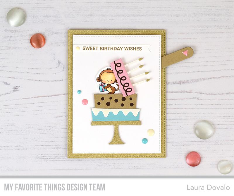Swell Surprise Birthday Cake Card Tutorial For Mft Bagatelasdepapel Funny Birthday Cards Online Inifofree Goldxyz