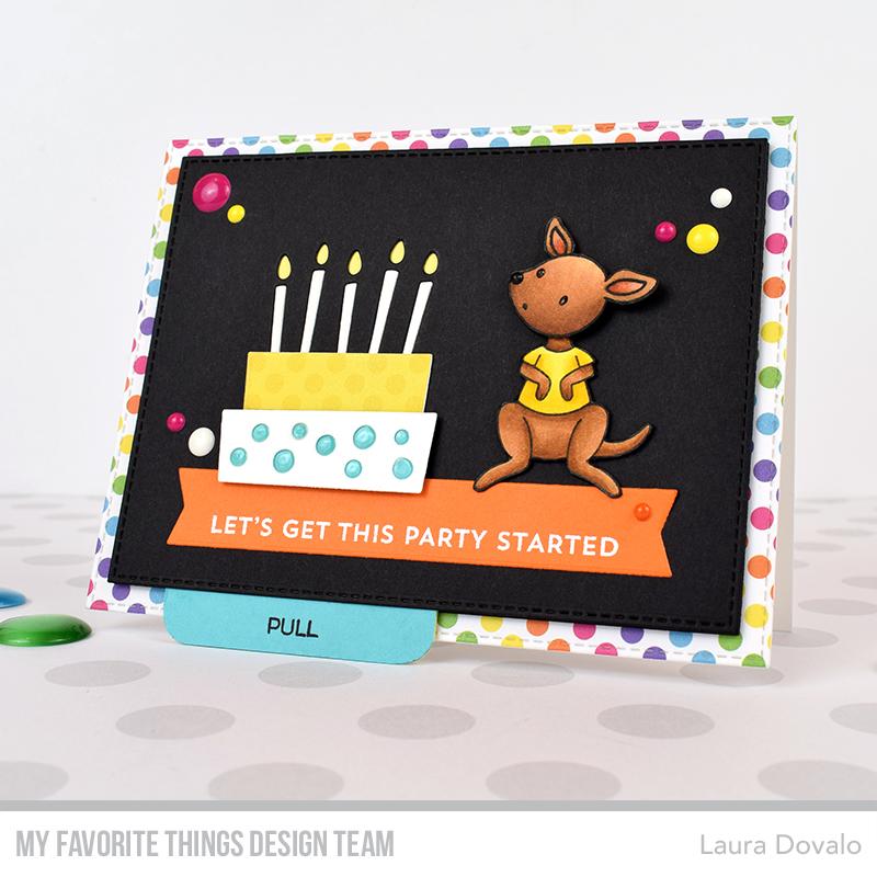 Astonishing Interactive Kangaroo Card Tutorial For Mft Bagatelasdepapel Funny Birthday Cards Online Inifofree Goldxyz